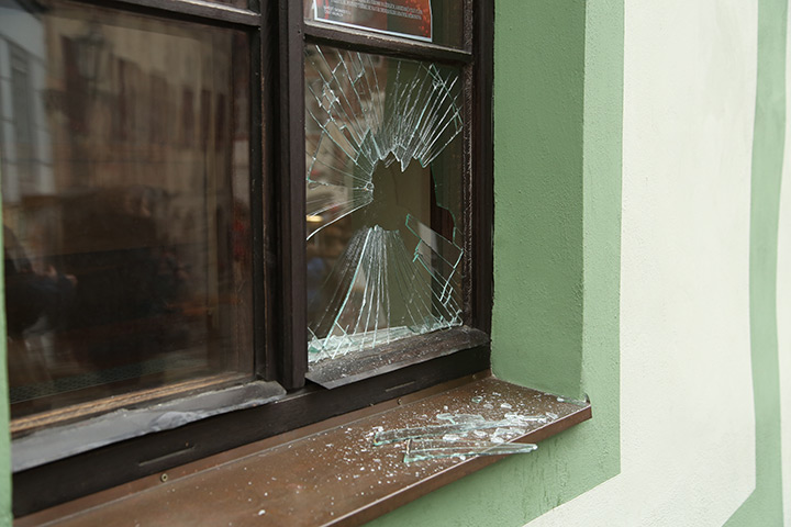 A2B Glass are able to board up broken windows while they are being repaired in Leytonstone.
